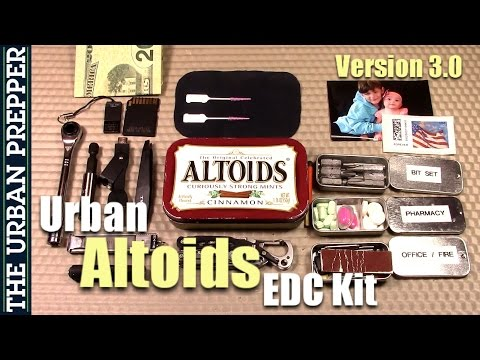 Urban Altoids EDC Kit (Version 3.0)