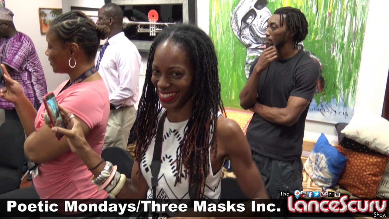 SHADO Shares His High Energy & Positive Vibes At Three Masks Inc. - The LanceScurv Show
