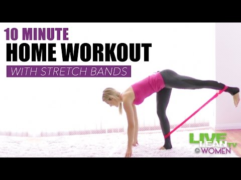 10 Minute Stretch Band Workout