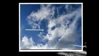 strange cloud shapes
