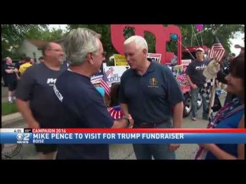 VP Candidate Pence to Visit Boise