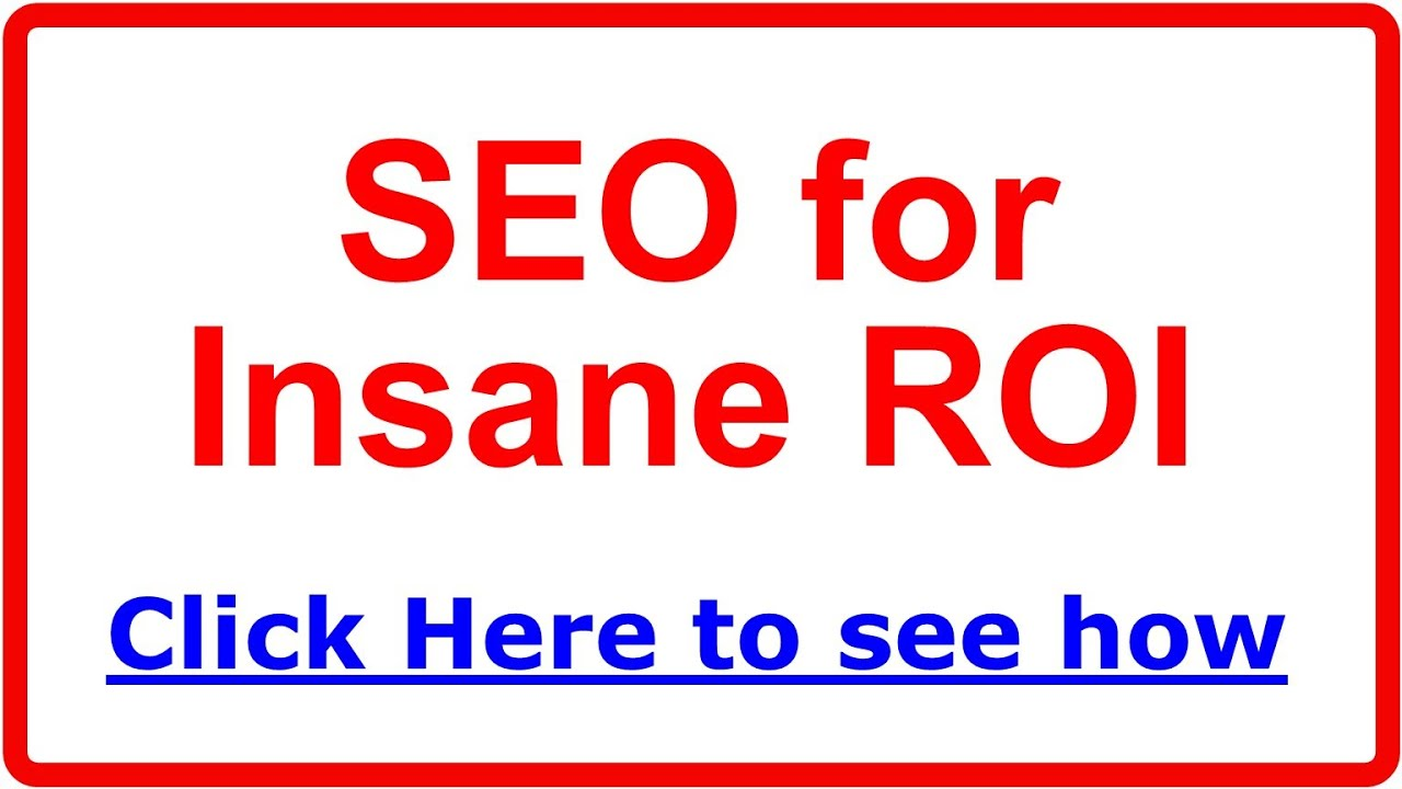 Chicago Seo Company For Roi Search Engine Optimization 1 Tip Ring Sleeve Diagram Youtube Premium