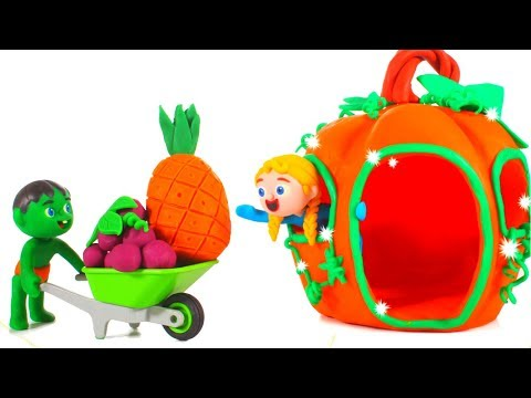 Kids New Pumpkin House ❤ Cartoons For Kids