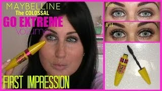 Maybelline The Colossal Go Extreme Volume   First Impression