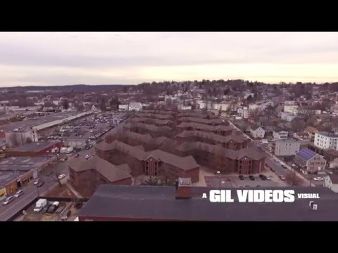 Lawrence Ma Aerial Of North & South Lawrence Featuring DMC Los