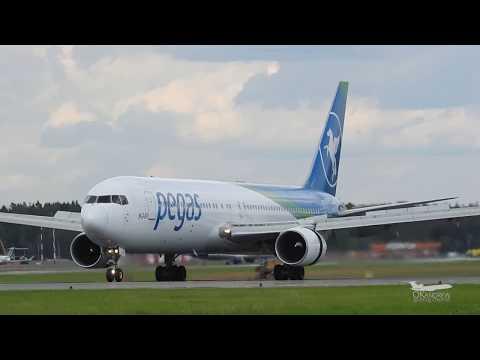 Боинг 767-300 Пегас Флай Аэропорт Шереметьево