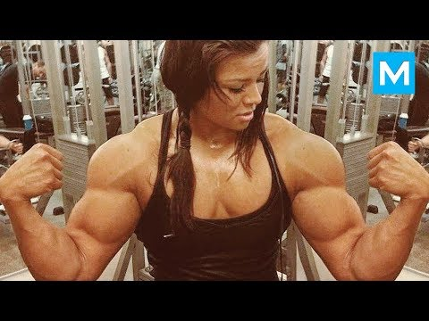 SUPER STRONG GIRL - Sophie Arvebrink | Muscle Madness