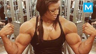 SUPER STRONG GIRL - Sophie Arvebrink | Muscle Madness