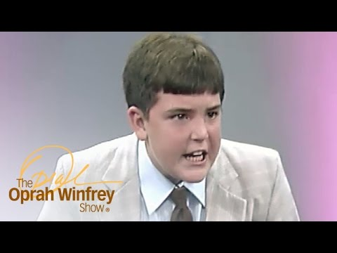 Thumbnail: Does This Child Preacher Understand the Words He's Yelling? | The Oprah Winfrey Show | OWN