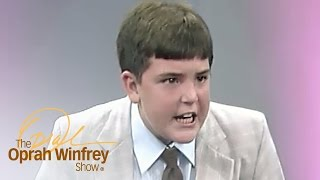 Does This Child Preacher Understand the Words He's Yelling? | The Oprah Winfrey Show | OWN