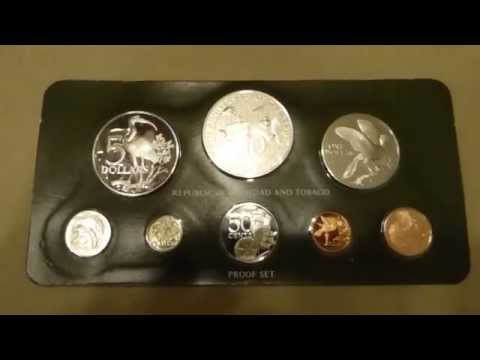 The 1981 eight-coin Proof Set of The Republic of Trinidad and Tobago