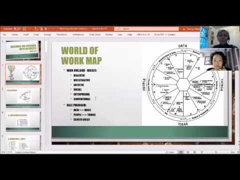 [Webinar về Bản đồ Thế giới Nghề nghiệp] Chia sẻ của cô Marilyn Maze