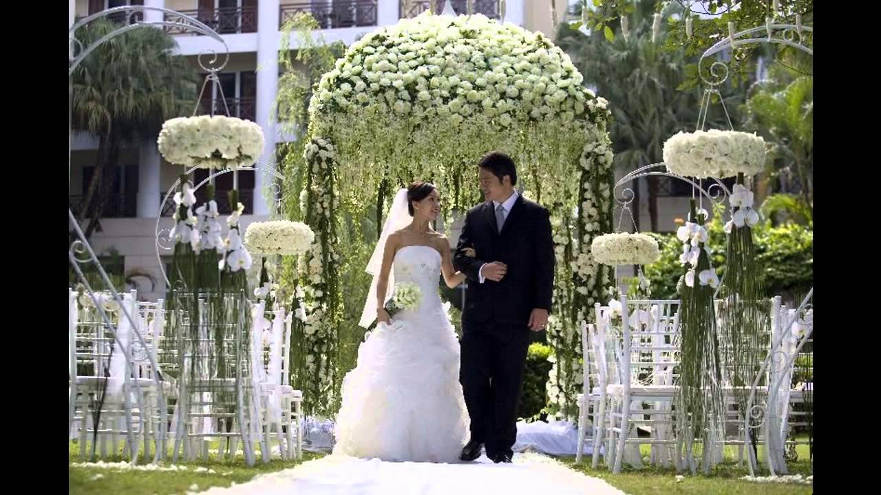 Classic themed wedding decorations ideas - YouTube