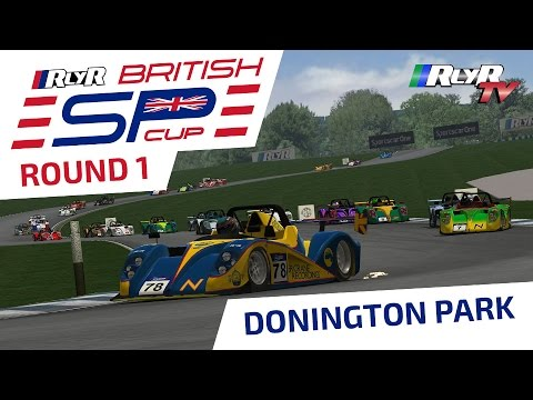 RlyR British Sports Prototype Cup - Round 1 - Donington Park