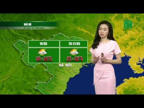 VTC14 | Thời tiết 12h 19/05/2018 | Nhiệt độ tiếp tục giảm tại miền Bắc trong 2 ngày tới