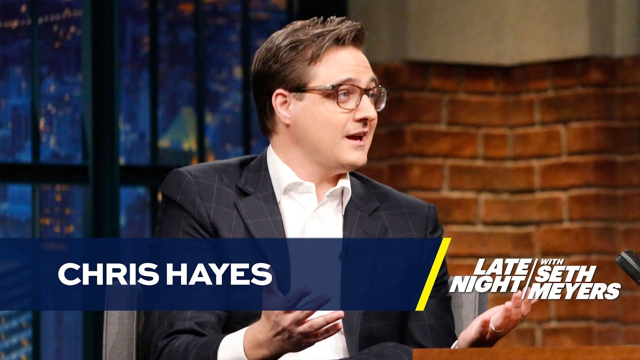 msnbc host chris hayes was caught with weed - youtube