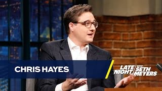 MSNBC Host Chris Hayes Was Caught with Weed