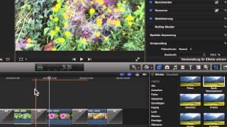 3) Videoeffekte und Bildstabilisation