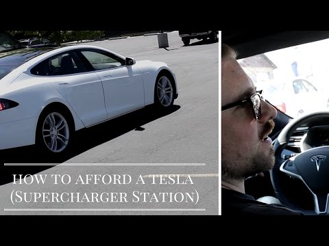 How To Afford A Tesla (Supercharger Station Edition)