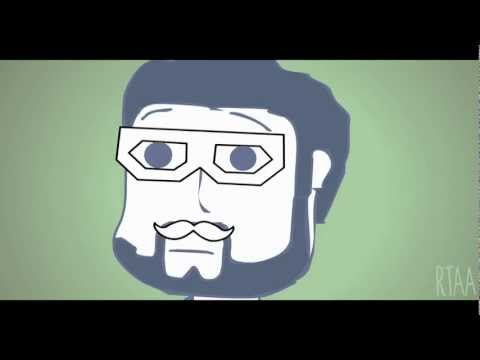 Rooster Teeth Animated Adventures - 4 Hours of Dubstep Hipster Burnie