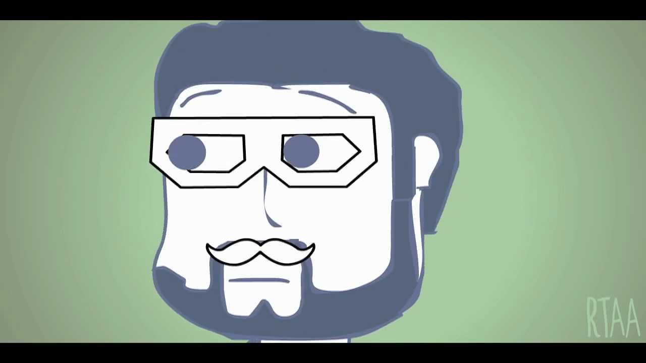 Rooster Teeth Animated Adventures Tribute To Skifchas Dubstep Hipster Cat