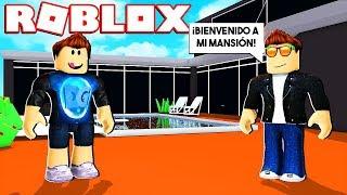 UN SUSCRIPTOR ME INVITA A SU MANSIÓN EN ROBLOX !! thumbnail