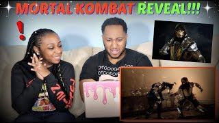 Mortal Kombat 11 Gameplay Reveal Trailer REACTION!!!