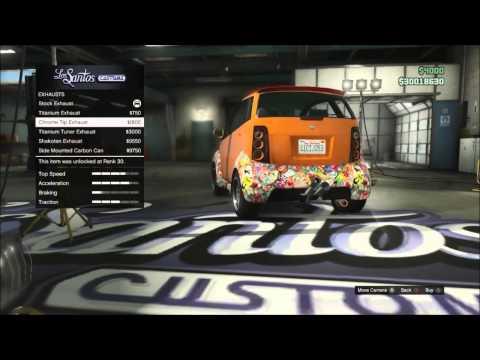 GTA 5 online 1.14 modding new cars 6x6 G-Wagon and SMART car