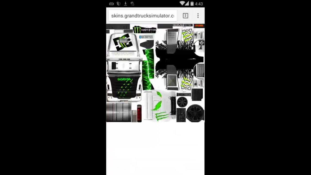 Descargar Skins Para Grand Truck Simulator - Español - YouTube