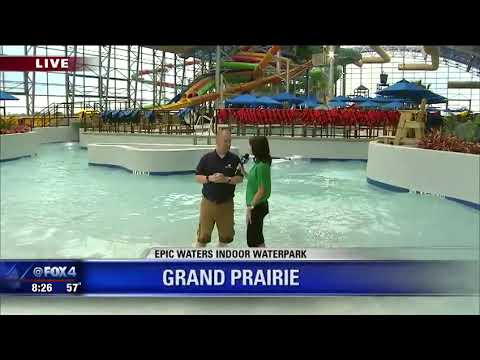 New Epic Waters indoor water park opens in Grand Prairie