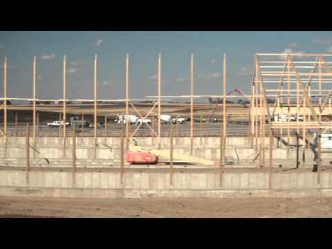 Revier Cattle Company- Barn Construction