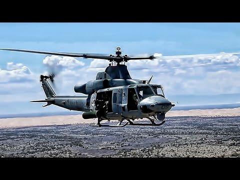 UH-1Y Venom Aerial Gunnery • USMC Trigger Time