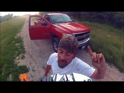 DIRTBIKERS/ATV VS ANGRY PEOPLE/FARMERS