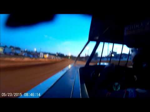 Cy & Shane Strickland heat race @Hartwell speedway