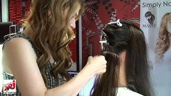 Simply Natural -hiustenpidennykset NRJ:n Aamussa 23.5. - Tekniikka