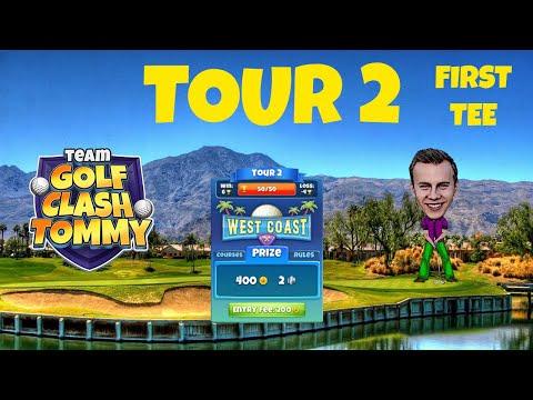 Golf Clash tips, Hole 6 - Par 3, Santa Ventura - Gridiron Tournament - ROOKIE Guide
