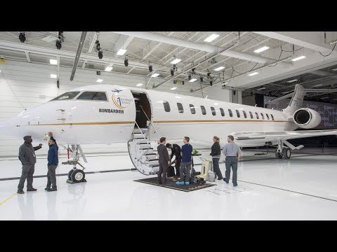 Bombardier's newest business jet, the Global 7500, is officially entering service