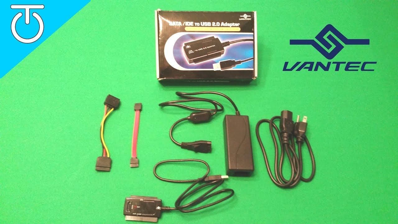 Vantec CB-ISA225-U3 NexStar IDE//SATA to USB3.0 Adapter