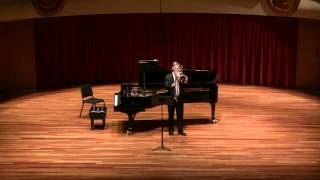 James Markey at CSU - Bach Sarabande from Suite No. 2
