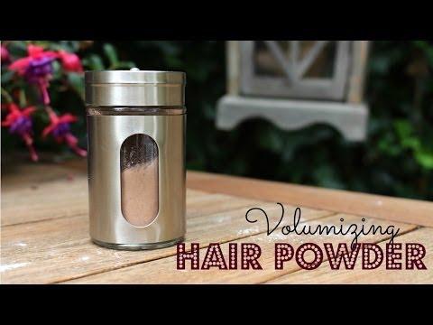 DIY Volumizing Hair Powder