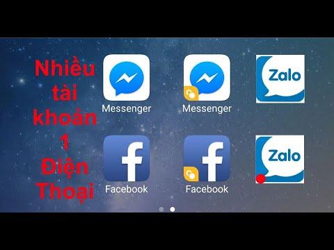 Cách dùng nhiều facebook, messenger, zalo trên một điện thoại với vsmart ứng dụng kép
