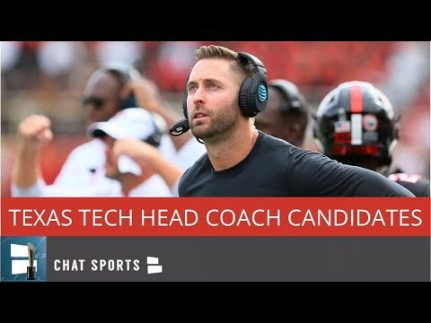 Top 10 Texas Tech Football Head Coach Candidates To Replace Kliff Kingsbury In 2019