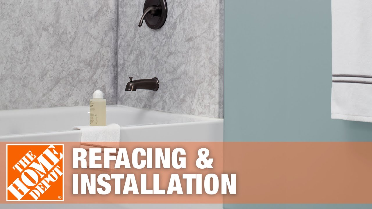 Tub & Shower Refacing and Installation - YouTube