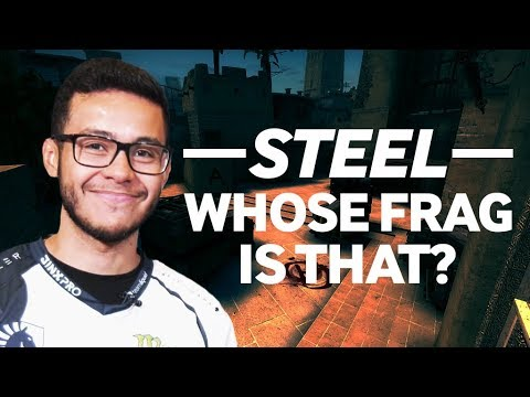 Liquid steel Plays Whose Frag Is That?