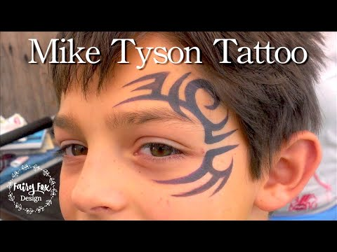 233a89c29 Mike Tyson Tattoo Face Paint tutorial - YouTube