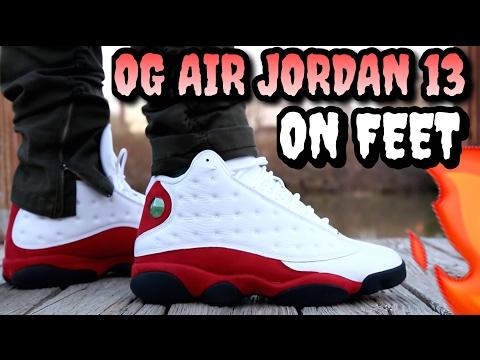 "WORTH $190? ""Cherry"" Air Jordan 13 ON FEET REVIEW"