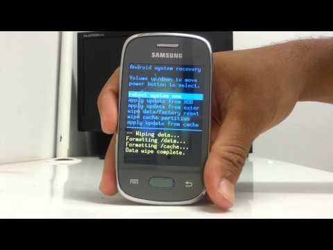 Como Fazer Hard Reset Galaxy Pocket neo GT S5310B (How To Hard Reset Galaxy Pocket Neo GT S5310B)