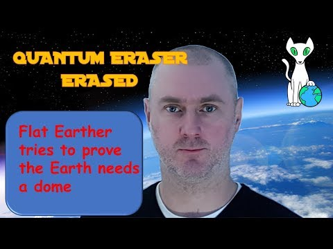 "Flat Earther's online ""science"" presentation is a disaster thumbnail"