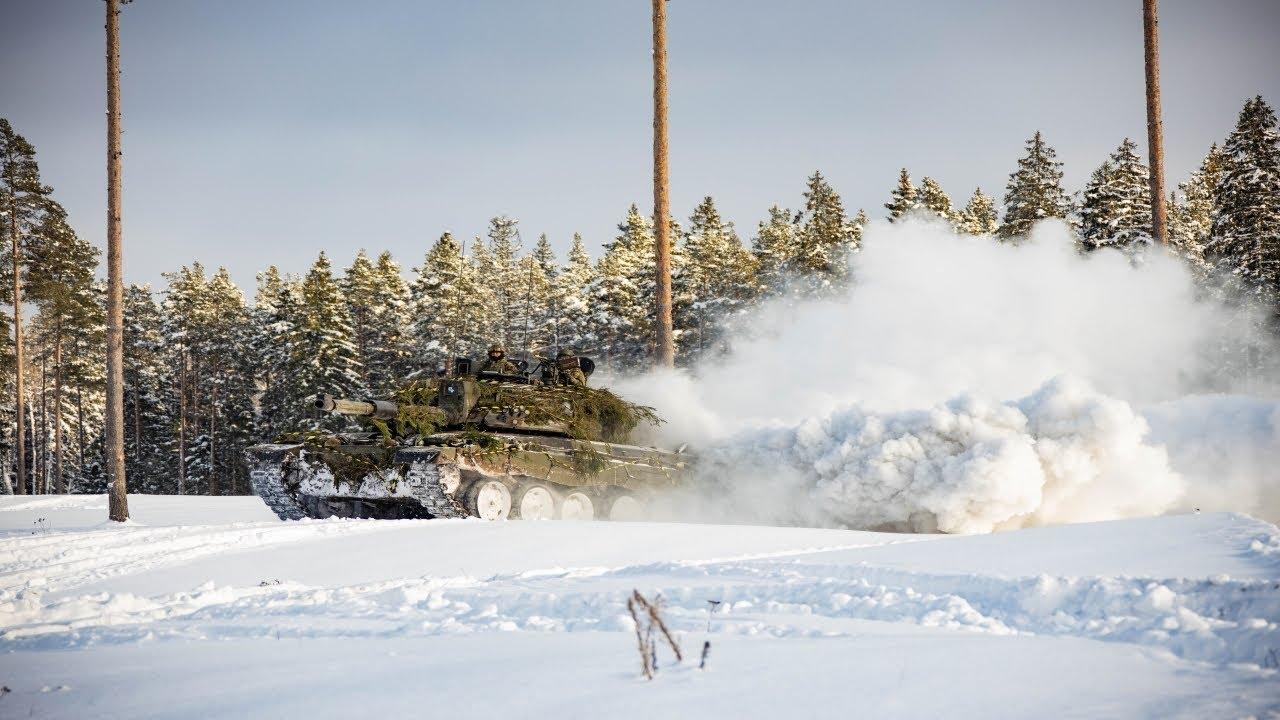 Scoutspataljon ja NATO lahingugrupp harjutasid talvist sõjapidamist