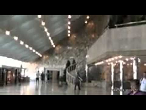 A tour of the Ryugyong Hotel in Pyongyang - YouTube